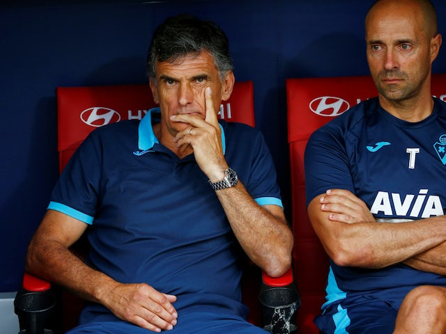 Eibar boss Jose Luis Mendilibar pictured in September 2019