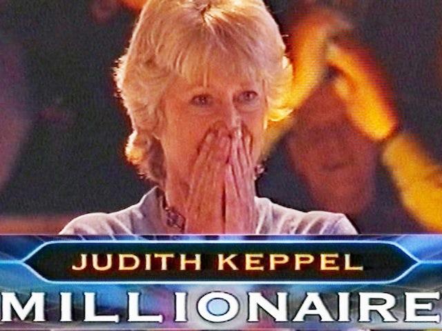 First WWTBAM winner Judith Keppel