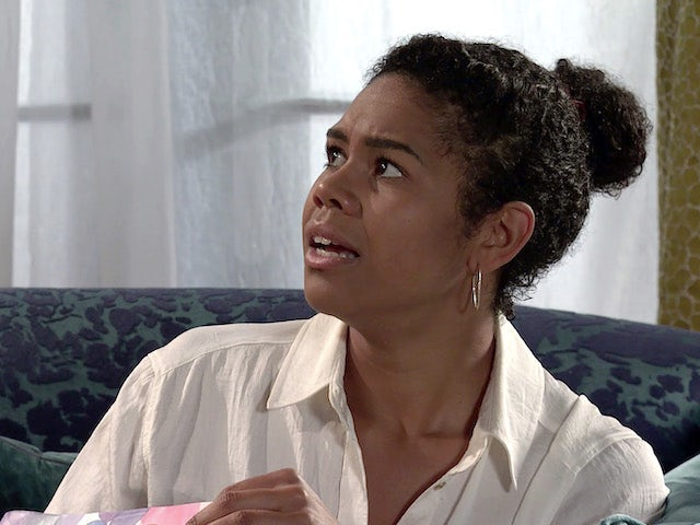 Grace on Coronation Street on September 25, 2020