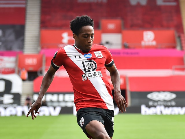 Southampton full-back Kyle Walker-Peters pictured in July 2020