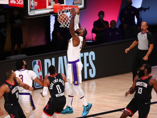 Result: LeBron James leads LA Lakers into first Conference finals since 2010