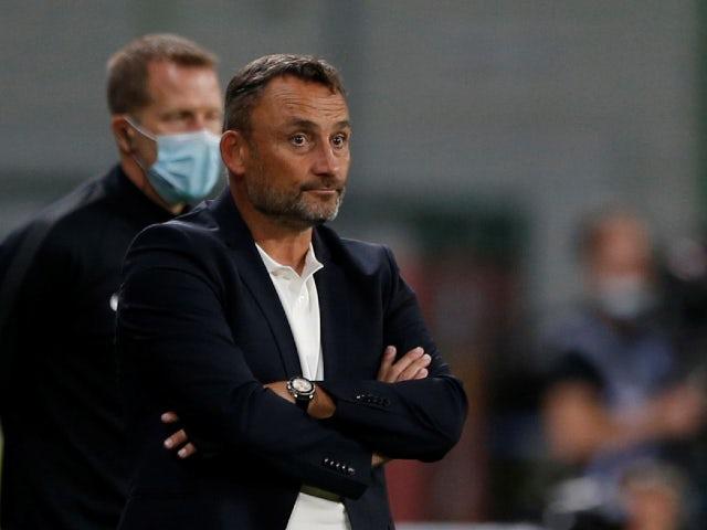 Lens manager Franck Haise pictured in September 2020