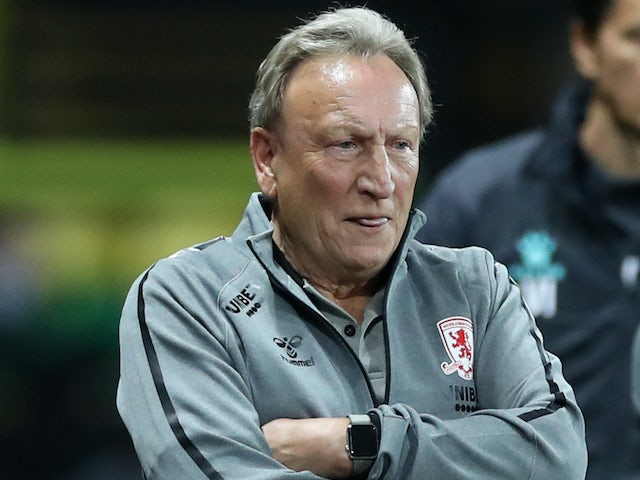 Boro boss Neil Warnock on September 11, 2020
