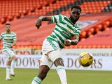 Celtic striker Odsonne Edouard pictured in August 2020