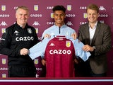 Ollie Watkins is unveiled by Aston Villa on Wednesday, September 9, 2020