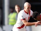 Southampton midfielder Oriol Romeu pictured on September 12, 2020