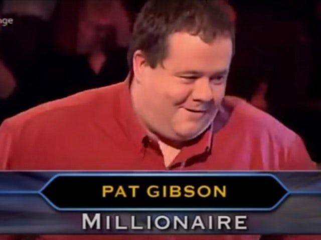 Fourth WWTBAM winner Pat Gibson