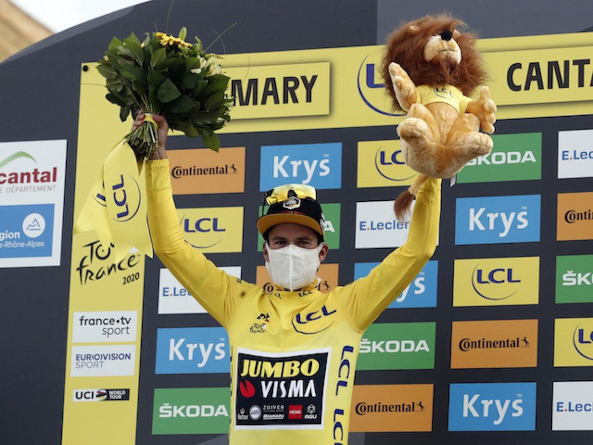 Primoz Roglic Super Happy After Extending Tour De France Lead Sports Mole