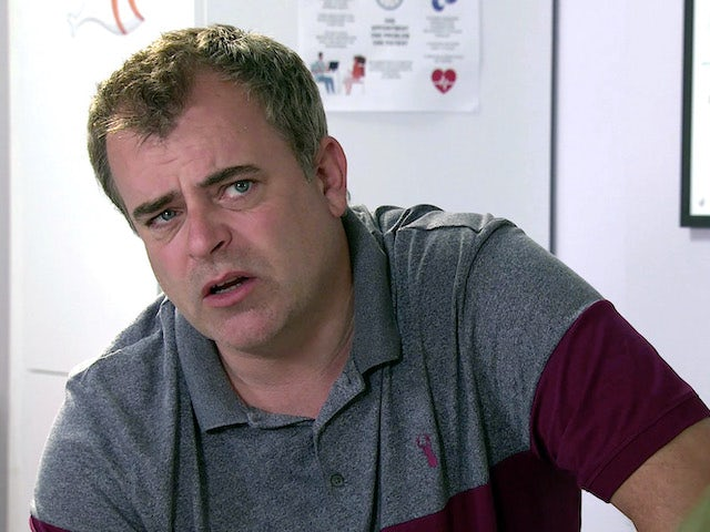 Steve on the second episode of Coronation Street on September 14, 2020