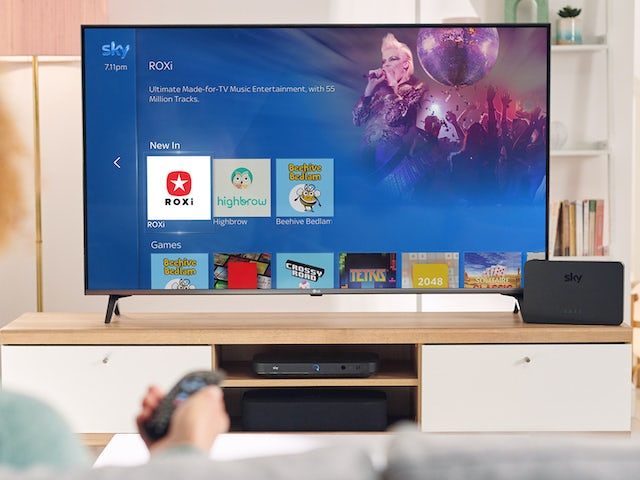 Music service ROXi launches on Sky Q
