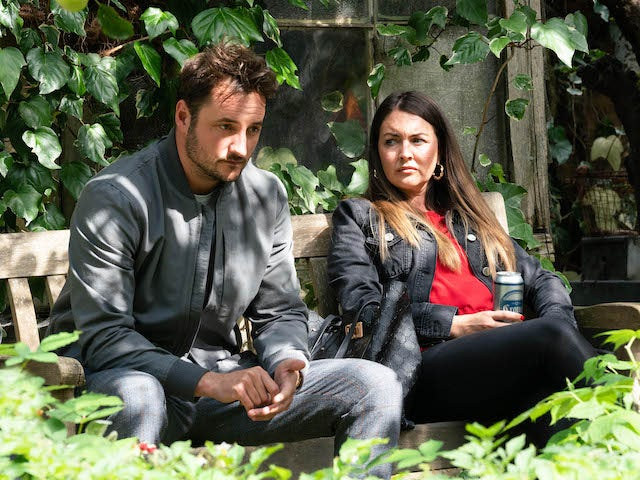 Stacey and Martin on EastEnders on September 25, 2020