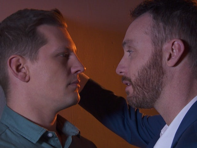 John Paul and James on Hollyoaks on September 14, 2020