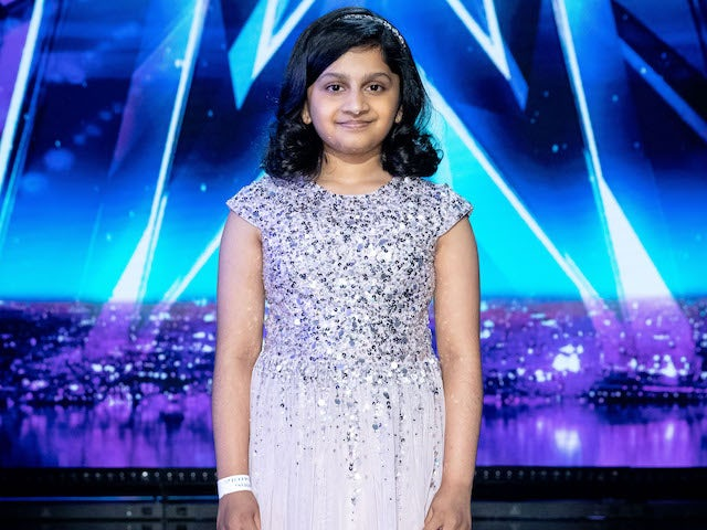 Souparnika Nair on the second semi-final of Britain's Got Talent on September 12, 2020