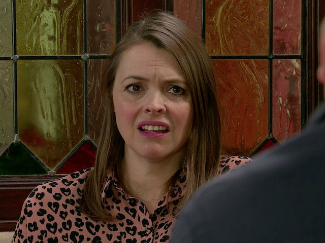 Tracey on the second episode of Coronation Street on September 21, 2020