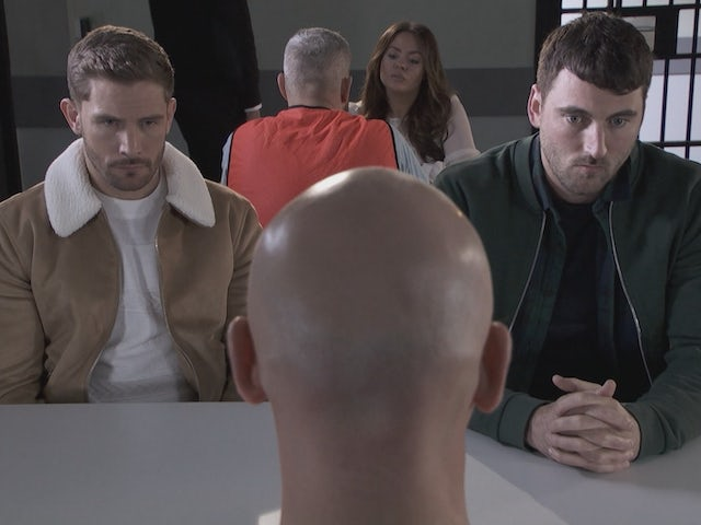 Brody and Damon on Hollyoaks on September 22, 2020