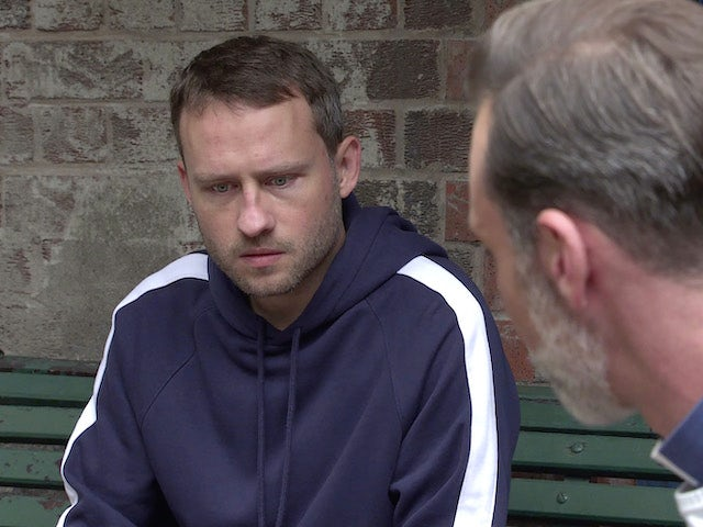 Paul on the first episode of Coronation Street on September 14, 2020