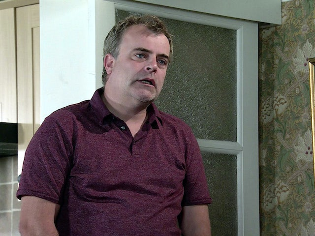 Steve on the first episode of Coronation Street on September 18, 2020