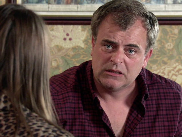 Steve on Coronation Street's second episode on October 5, 2020