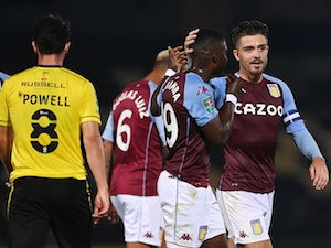Jack Grealish marks new contract with goal in Aston Villa win over Burton