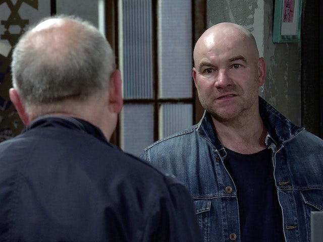 Tim on Coronation Street's second episode on October 5, 2020