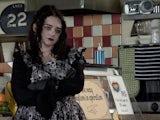Nina on Coronation Street's second episode on September 30, 2020