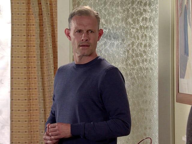 Nick on Coronation Street's second episode on September 28, 2020