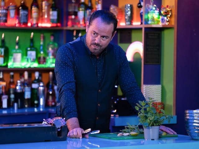 Mick on EastEnders on October 2, 2020