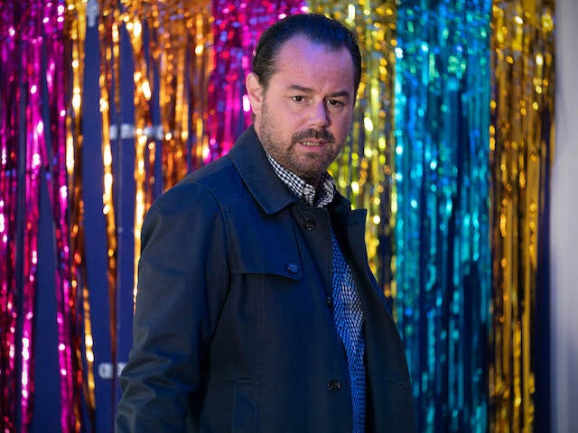 Mick on EastEnders on September 28, 2020