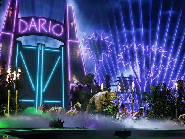 Dario on the third semi-final of Britain's Got Talent series 14