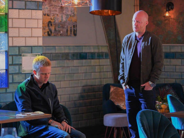 Bobby and Max on EastEnders on September 29, 2020