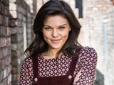Faye Brookes as Kate Connor on Coronation Street