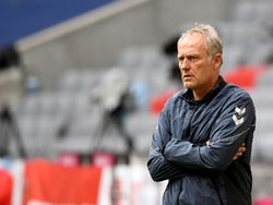 Freiburg manager Christian Streich pictured in June 2020