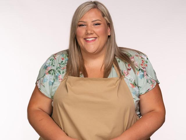 Laura on Great British Bake Off series 11