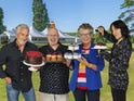 The judges and hosts of The Great British Bake Off series 11