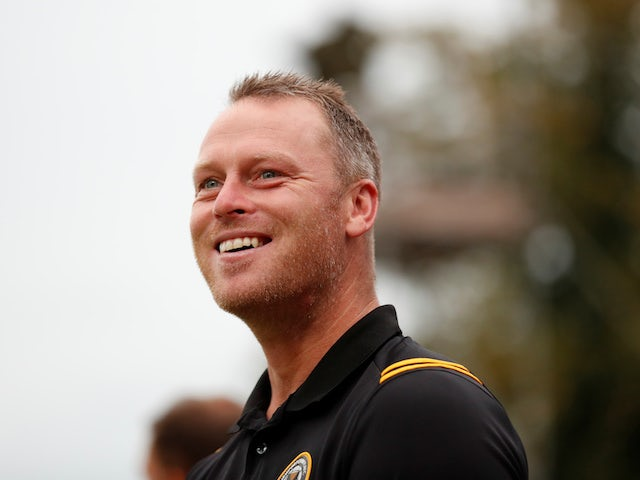 Newport County boss Mike Flynn pictured in August 2019