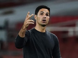 Arsenal manager Mikel Arteta pictured on September 19, 2020