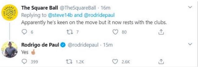RDP tweet for LeedsUnited