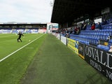 A general shot of the Global Energy Stadium, the home of Ross County