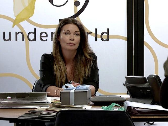 Carla on Coronation Street's first episode on September 28, 2020