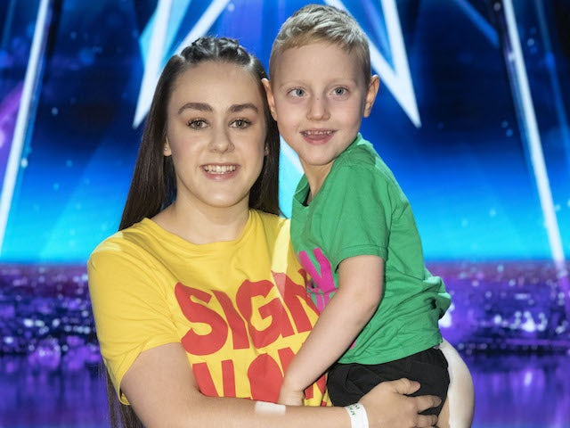 Sign Along With Us on the third semi-final of Britain's Got Talent series 14