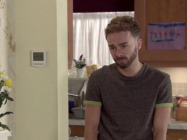 David on Coronation Street's second episode on September 28, 2020