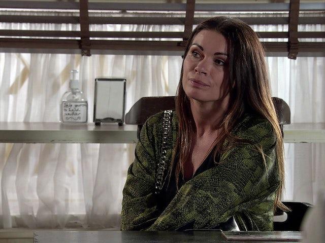 Carla on Coronation Street's second episode on September 30, 2020