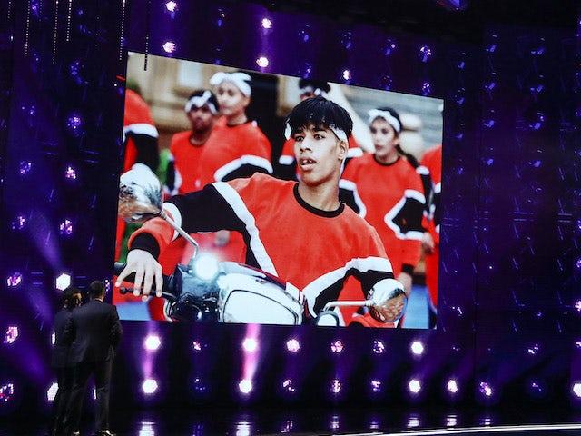 X1X Crew on the third semi-final of Britain's Got Talent series 14