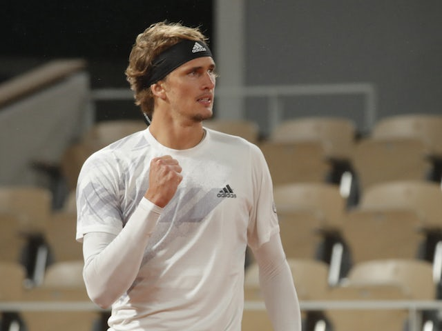 Result: Alexander Zverev bounces back from US Open loss by easing through in French Open
