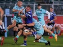 Bath's Sam Underhill in action against Gloucester on September 22, 2020