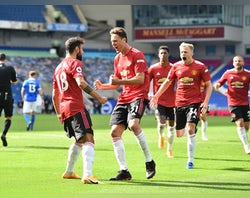 Fernandes nets last-gasp penalty as Man United beat Brighton in five-goal thriller