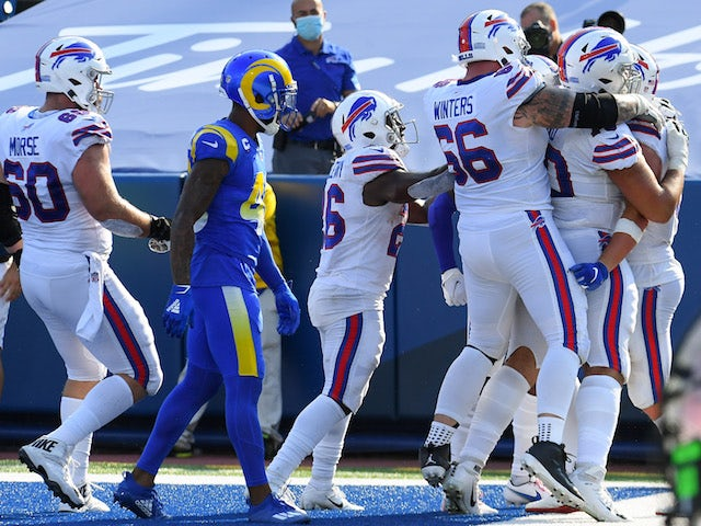 NFL roundup: Buffalo Bills survive major scare to stay perfect