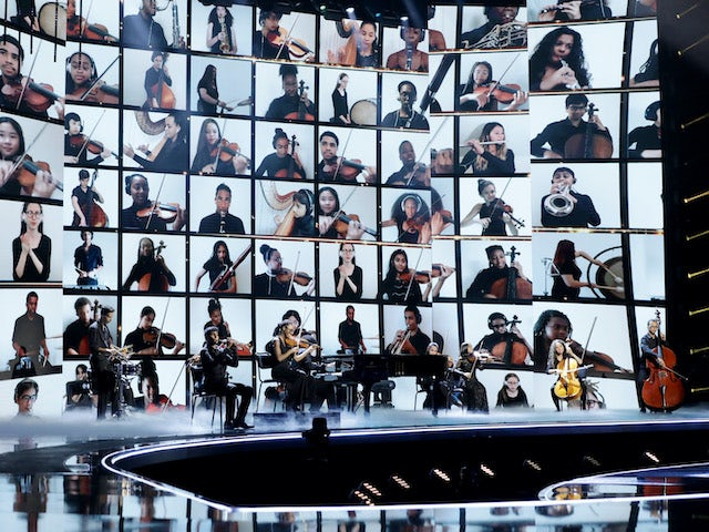 Chineke Junior Orchestra on the fourth semi-final of Britain's Got Talent on September 26, 2020