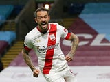 Southampton's Danny Ings celebrates scoring against Burnley in the Premier League on September 26, 2020
