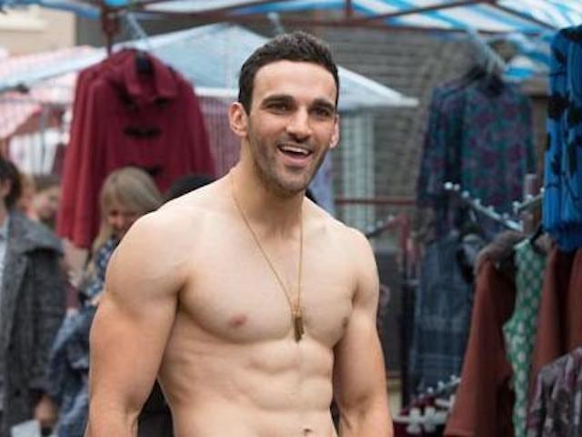 Davood Ghadami as Kush on EastEnders